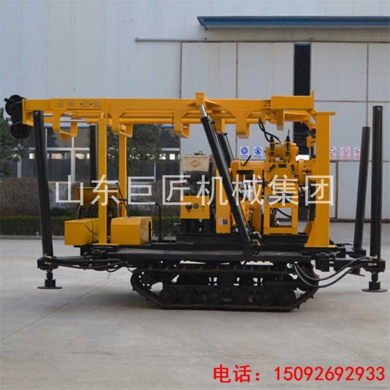 巨匠供應XYD-130履帶式地質取芯鉆機 履帶巖心鉆機價格