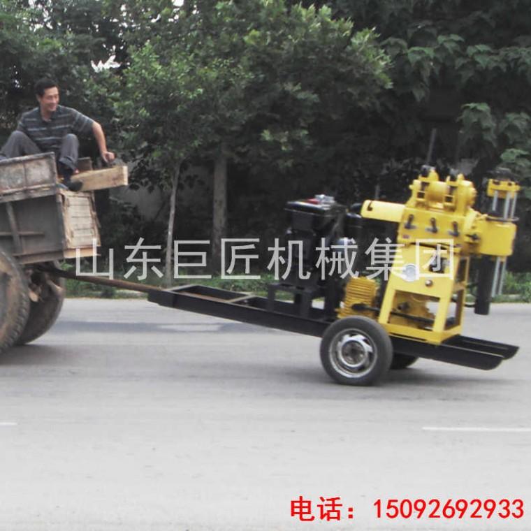 巨匠供應XYX-200輪式液壓巖芯鉆機 行走方便勘探好幫手