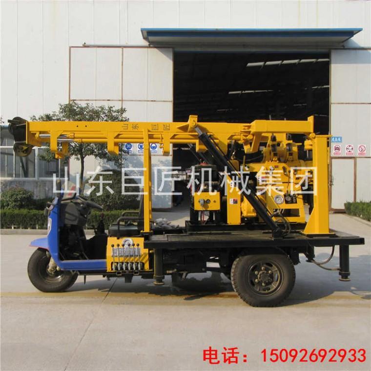 巨匠XYC-200A液壓巖芯鉆機 地質勘探200型三輪車鉆機