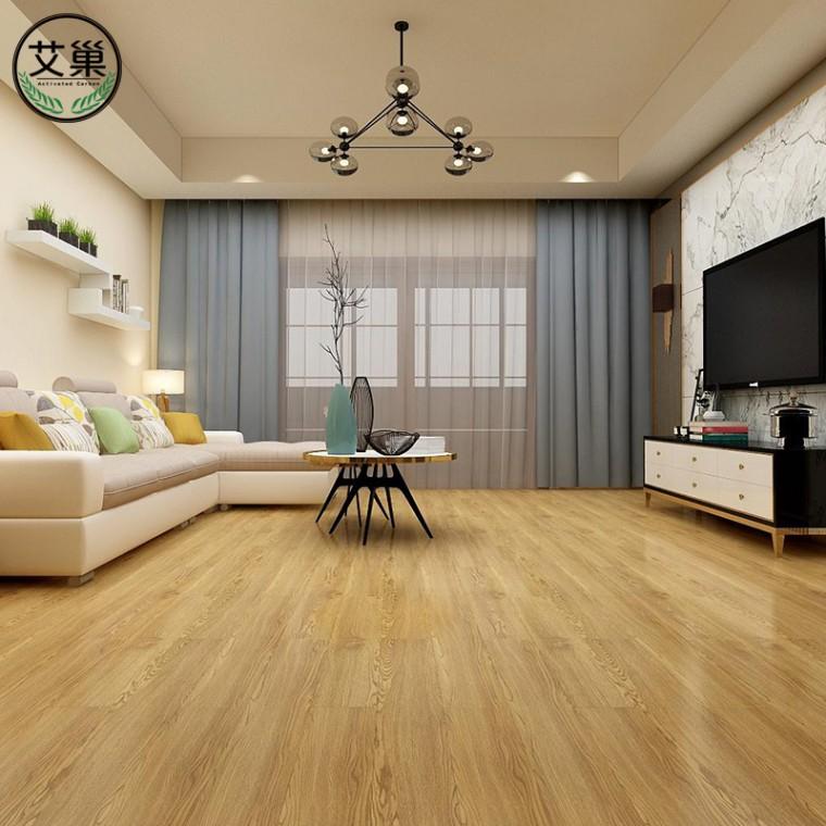 厂家直销PVC家用自粘地板贴,防火阻燃耐磨家用商铺免胶地板