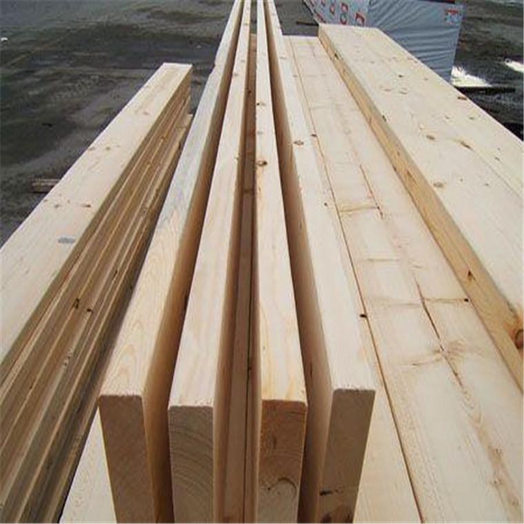 建筑工地木方加工厂-花旗松