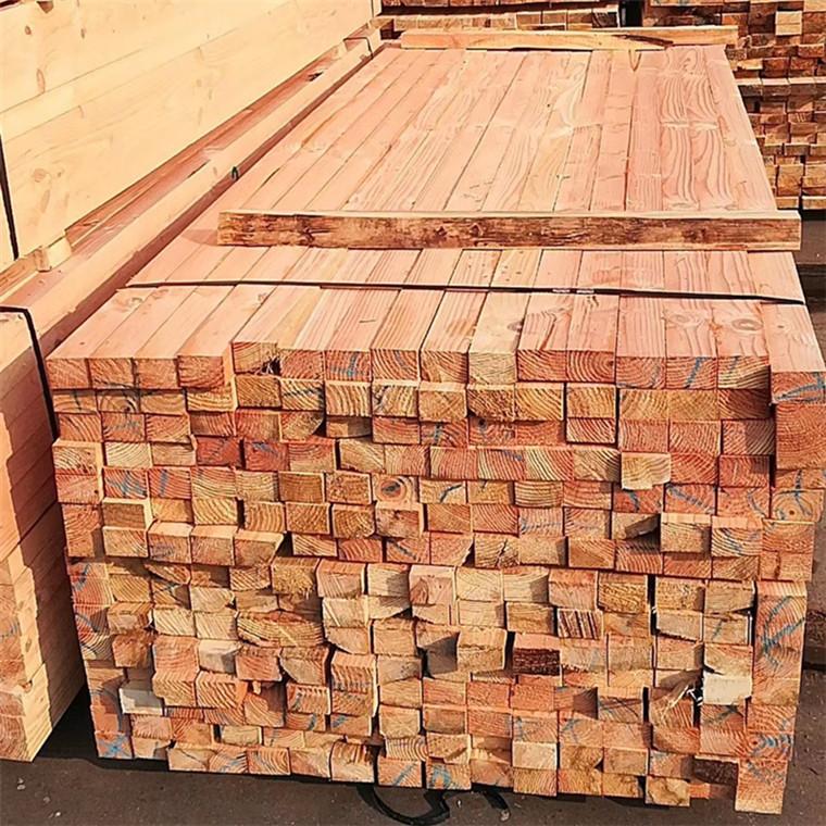 花旗松建筑方木多少錢一方