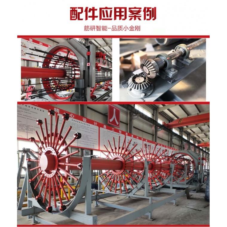 數控鋼筋籠滾焊機配件
