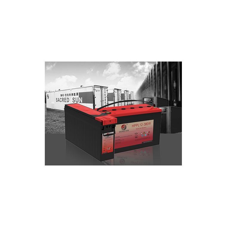 圣阳蓄电池  HPPL系列 免维护铅酸蓄电池 圣阳电池