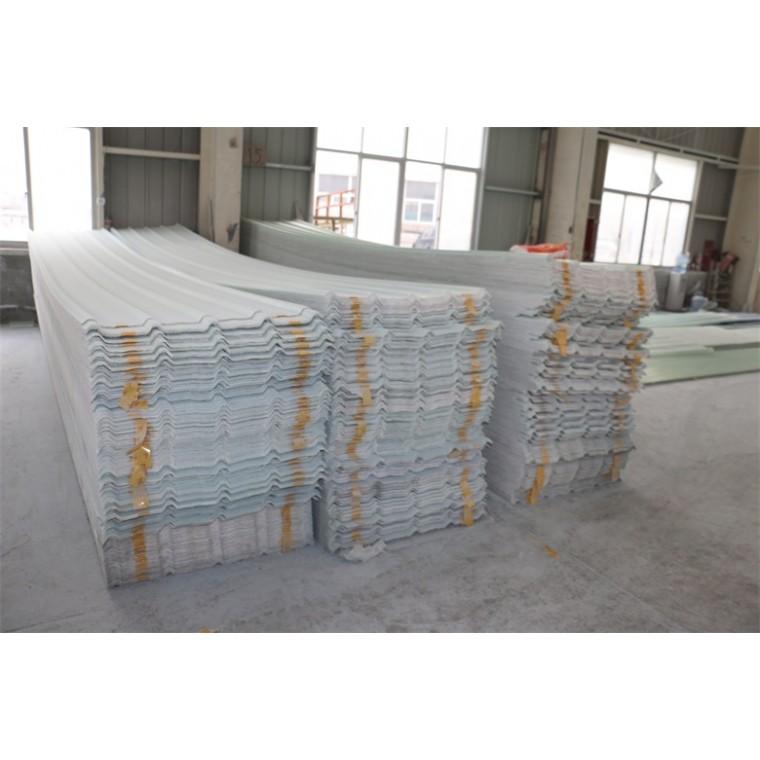 轻钢结构采光防紫外线 经久耐用玻璃钢 FRP透明瓦厂家直销