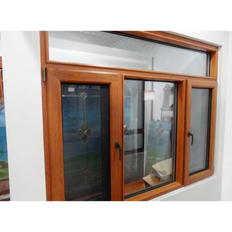 鋁木復合100一體窗系列