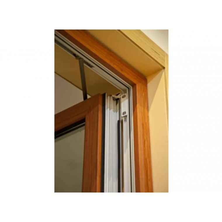鋁木復合75外開門