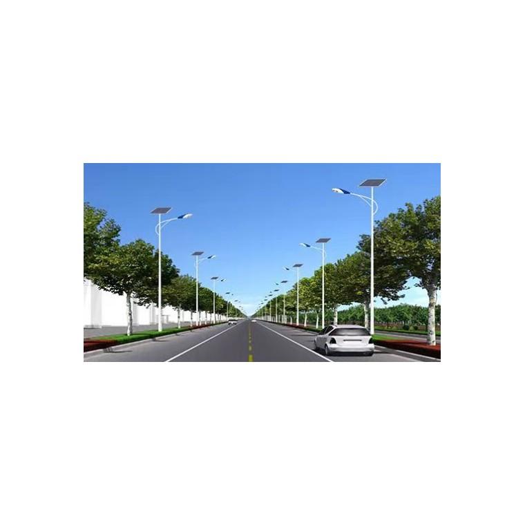 厂家直售5m到8m太阳能路灯A字臂路灯杆