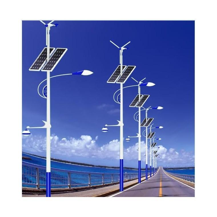 光伏路灯道路灯交警灯标志牌路灯太阳能厂家直供