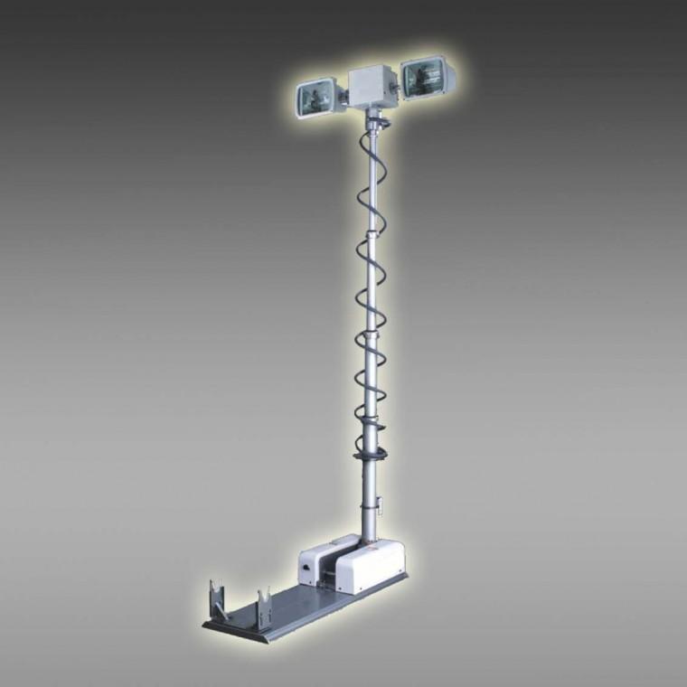 供应曲臂升降照明灯生产厂家 车载升降照明灯定制