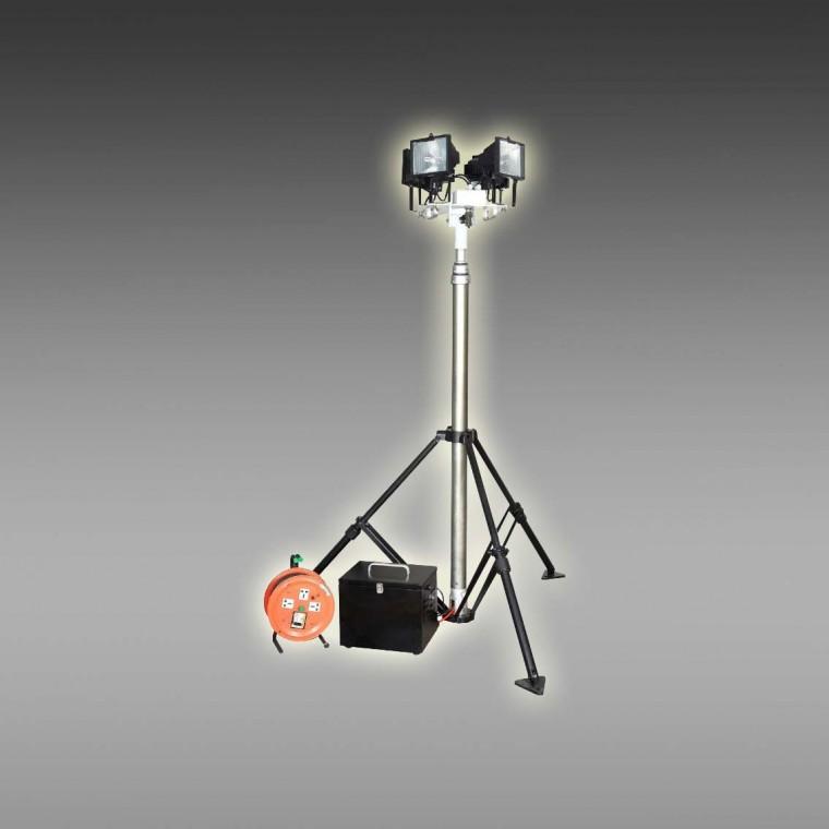 供应全方位遥控自动升降泛光灯 发电机自动升降照明灯定制