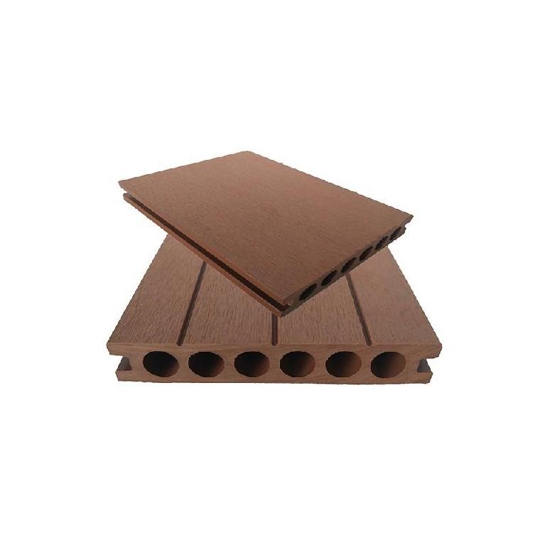 木塑栈道地板140x25圆