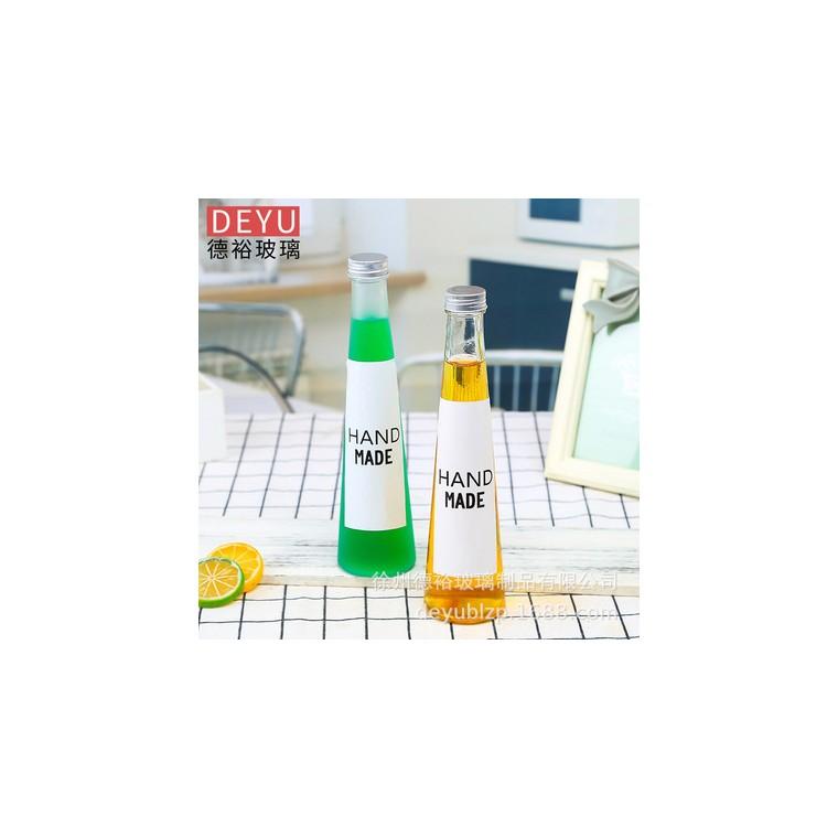 飲料瓶錐形玻璃飲料瓶