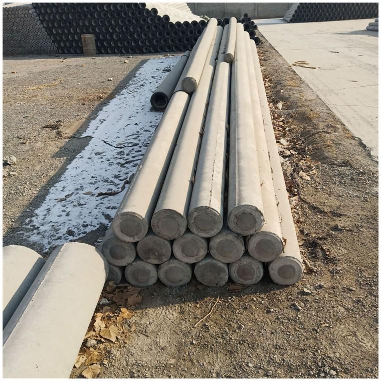 内蒙古兴安盟水泥电杆 水泥电线杆价格 预应力电杆生产厂家