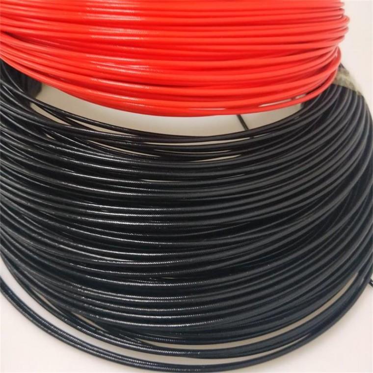 200℃耐高温硅树脂玻纤管 厂家直销1.5kv电气专用套管