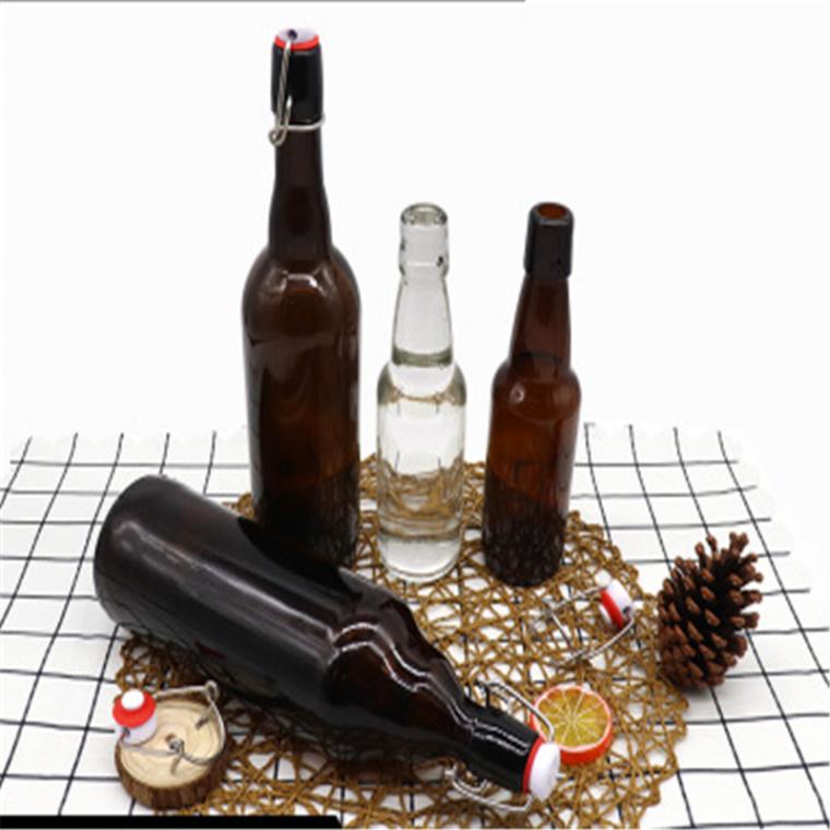 直銷現貨供應棕色啤酒瓶l500ml1000ml酒瓶啤酒瓶子