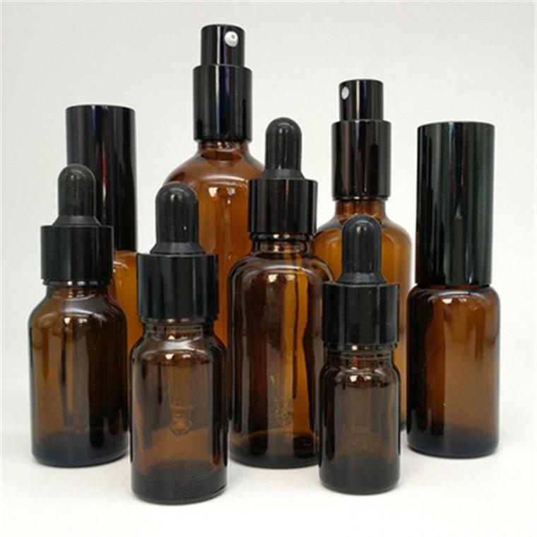 茶色精油瓶 30ml 高檔香水分裝調試瓶化妝品包裝瓶玻璃瓶