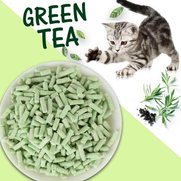 绿茶味猫砂
