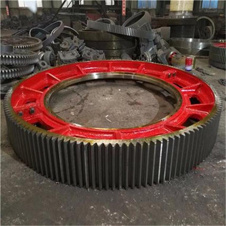 烘干機大齒輪 滾筒干燥機原廠大齒輪奎一大小齒輪加工定做