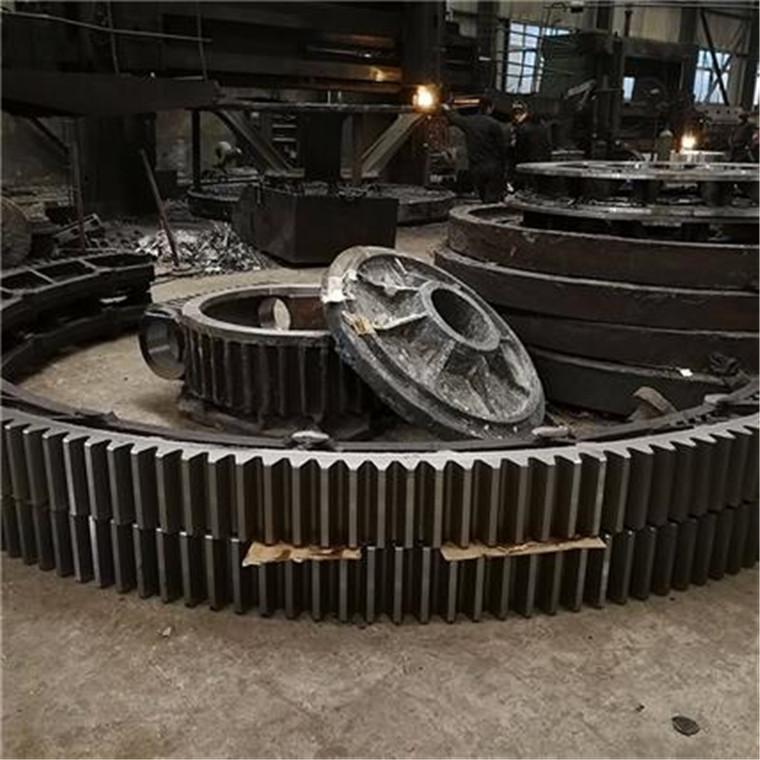 徐州烘干機大齒輪 滾筒干燥機大齒輪 滾筒干燥機滾圈 大齒圈