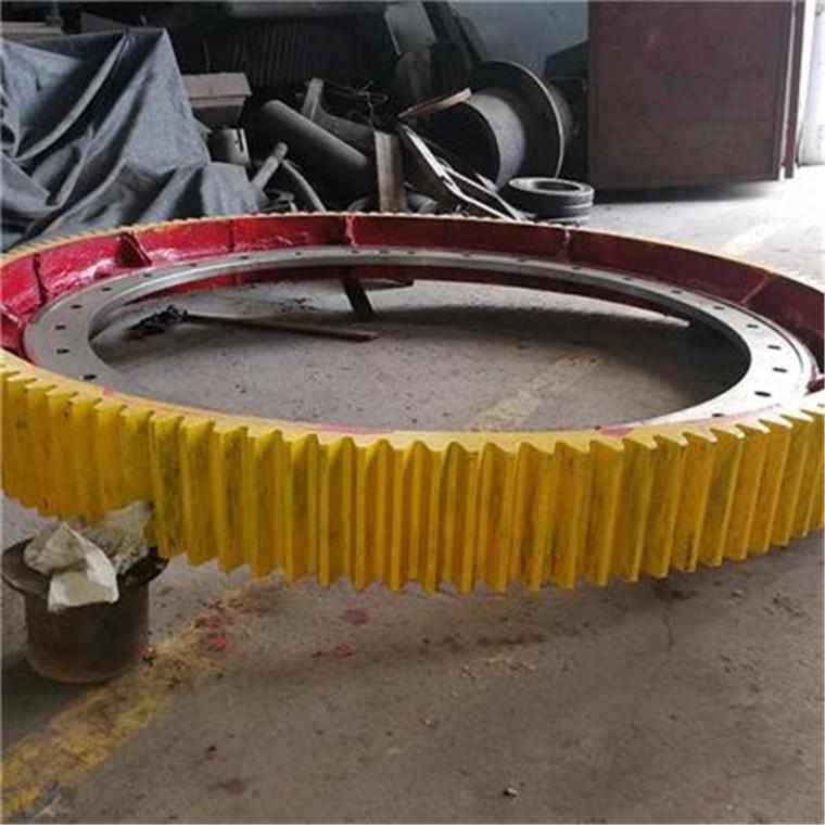 干燥機大齒輪 滾筒化灰機齒輪 鑄鋼滾圈  徐州奎一廠家直銷