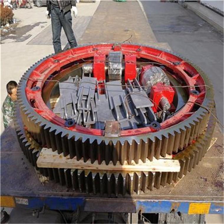 徐州奎一廠家定制 煤泥烘干機配件  單轉筒礦粉干燥機滾圈批發