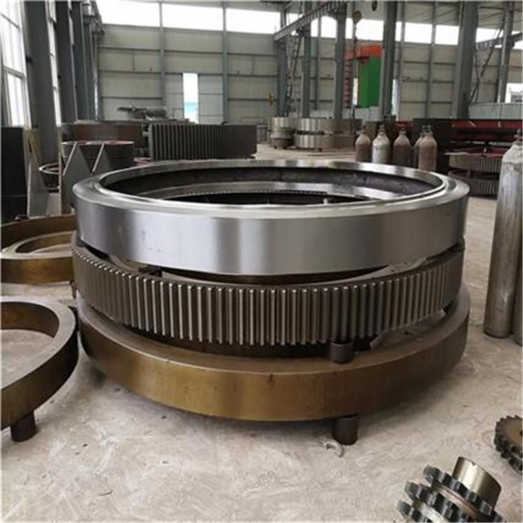 回轉式炭化爐配件 活化爐配件 活性炭活化爐大齒輪 大齒圈