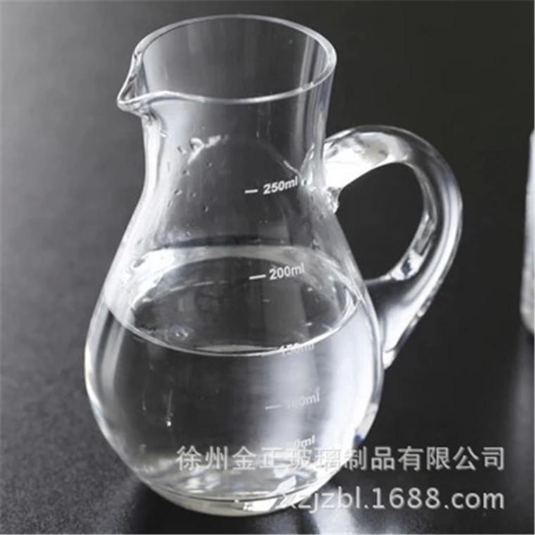 水晶玻璃純手工帶大容量刻度紅酒分酒器酒樽公道酒器