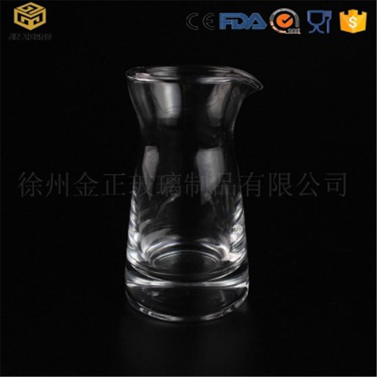 高品質分酒器 100ml 透明玻璃酒壺 創意餐廳酒吧環保酒具