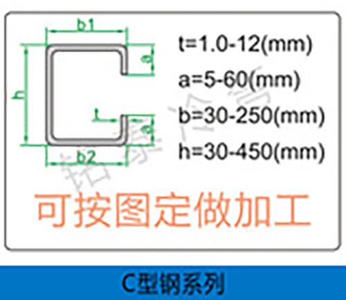 貴州C型鋼