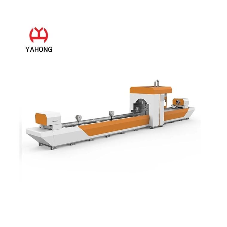 徐州亚鸿厂家直销自动送料管数控光纤激光切割机