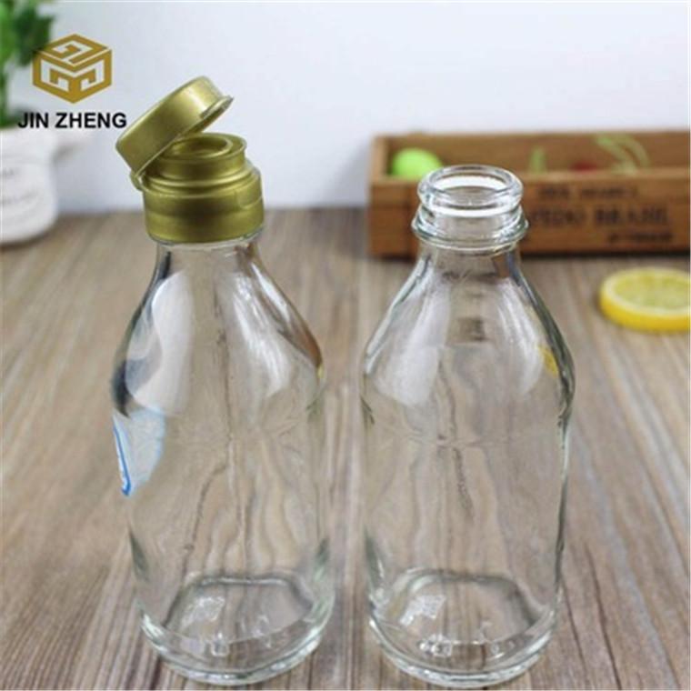 廠家加工定制 壽司醬油玻璃瓶 醋瓶 料酒玻璃瓶200毫升