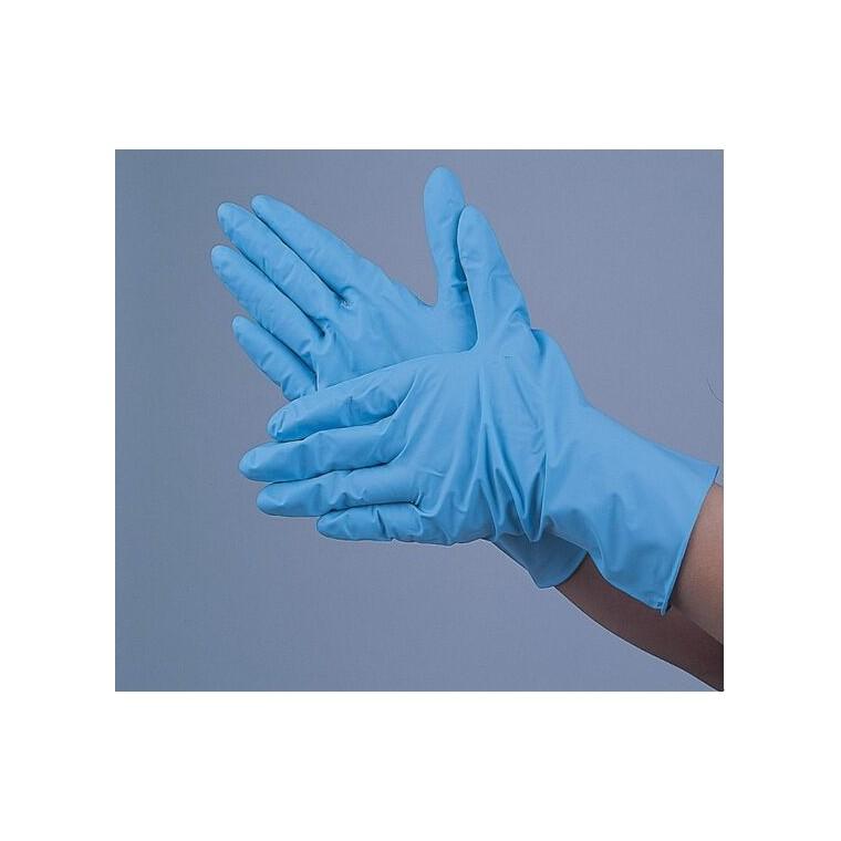藍丁晴手套 一次性丁