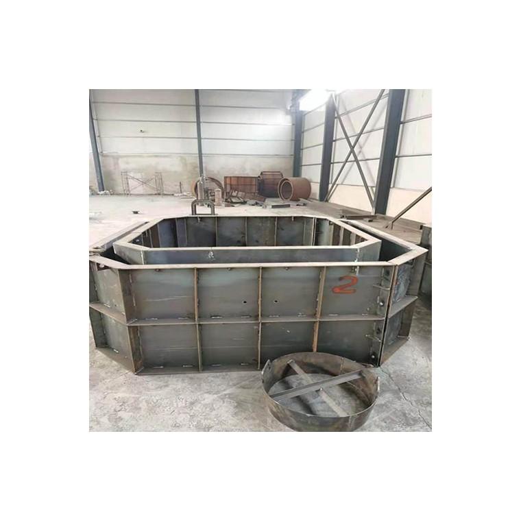 家用化粪池模具,三格化粪池钢模具,振通模具厂