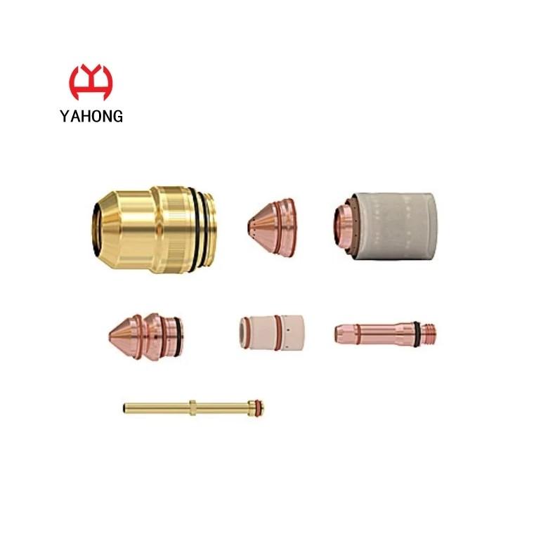 徐州亞鴻直銷等離子切割機配件 易損件 噴嘴電極保護蓋
