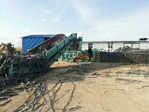 黑龍江200廢紙打包機
