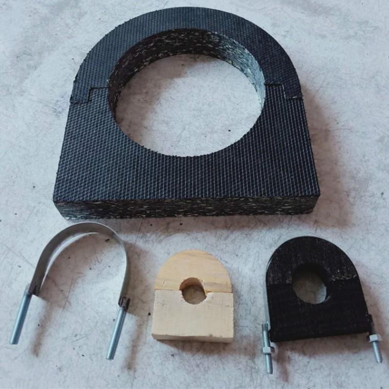 管道木托-空調托碼-PE硬質木托-EVA橡塑木托