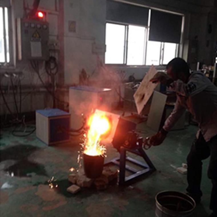 廠家定制小型熔煉爐,