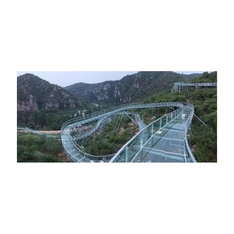 玻璃棧道景觀臺設計施