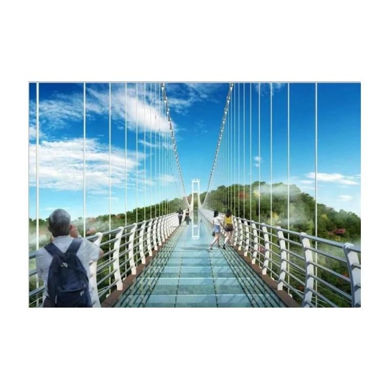 景區玻璃吊橋設計建設