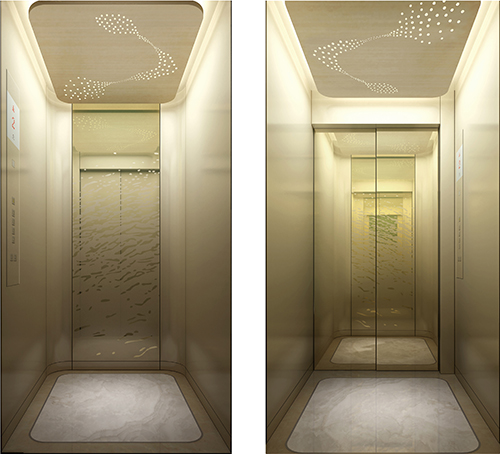 天津家用別墅電梯