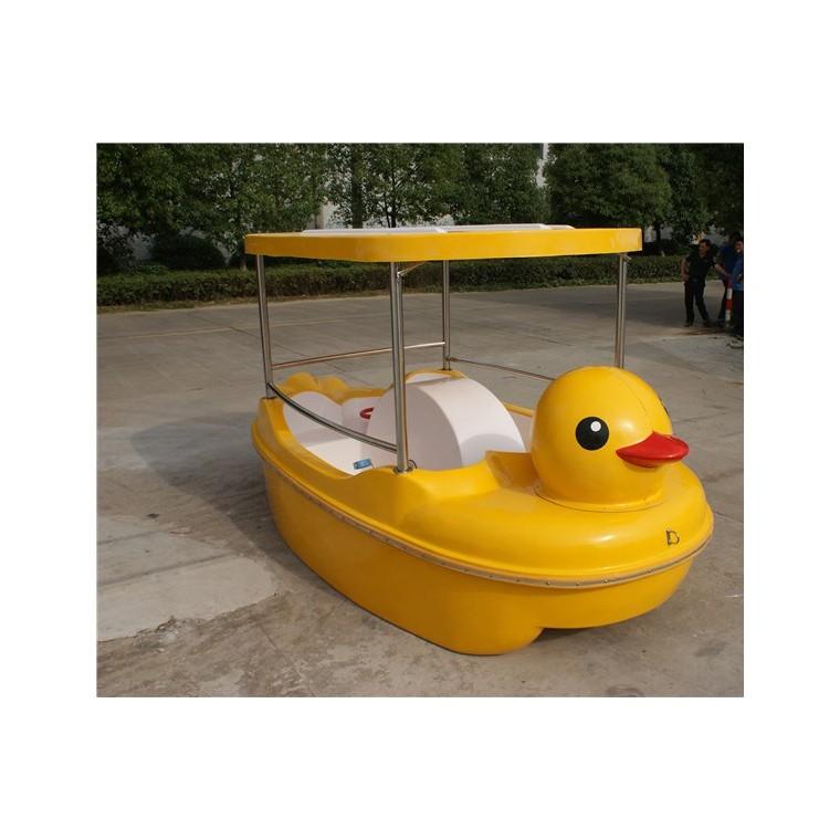 大黃鴨腳踏船