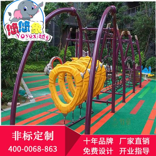 滄州非標組合滑梯