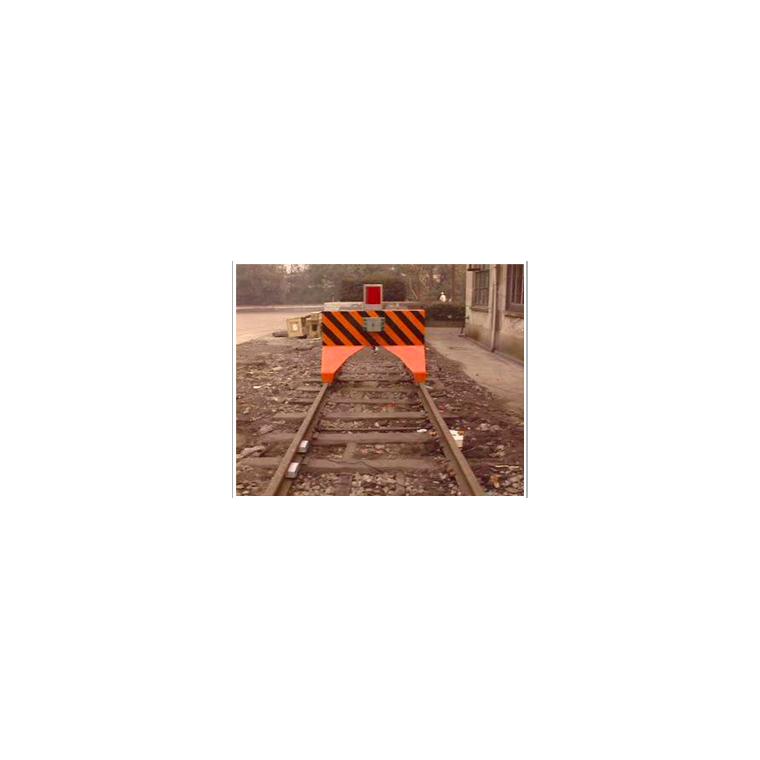 地铁液压缓冲挡车器