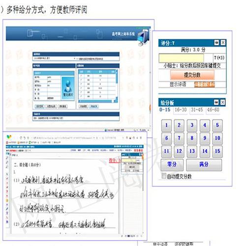 天津電腦云閱卷系統