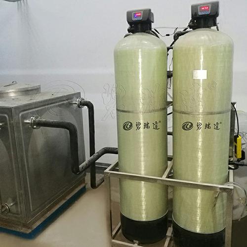 集安雙閥雙罐軟水器