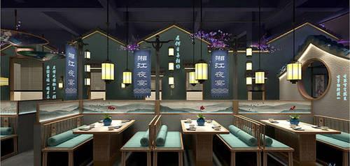 蘇州姑蘇飲品店裝修設計