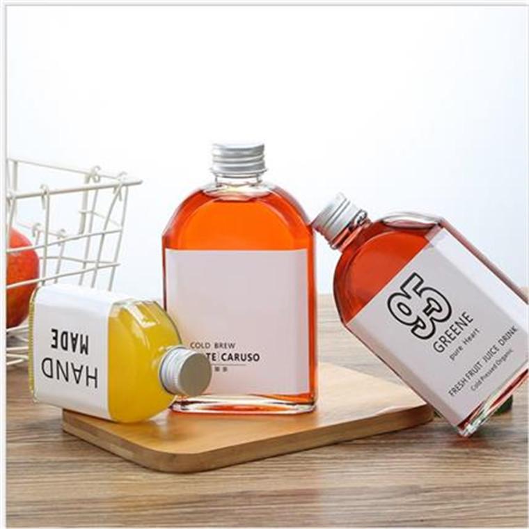 廠家直銷飲料瓶果汁瓶鮮榨果汁瓶奶茶瓶酒瓶玻璃瓶