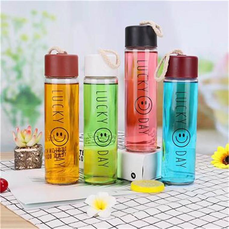 廠家直銷簡約磨砂杯 麻繩創意 廣告logo定制水杯