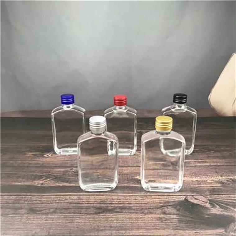 廠家直銷100ML酒瓶玻璃瓶果酒瓶定制酒瓶